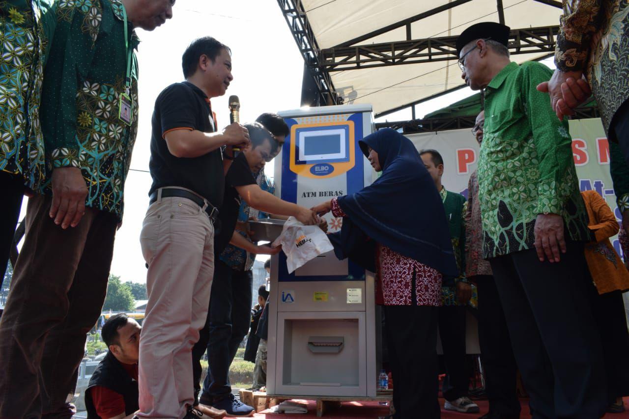 Cover Jelang Tanwir Lazismu Luncurkan ATM Beras