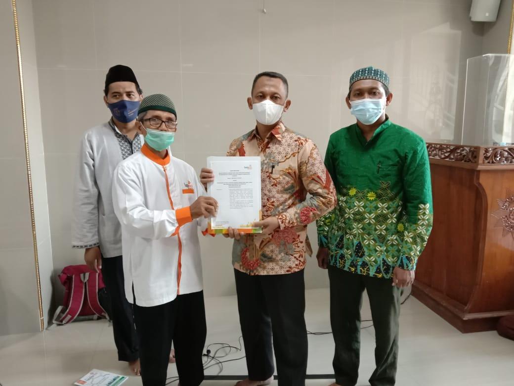 Cover Gelisah dengan Pengelolaan Zakat, PCM Wonocolo Surabaya Dirikan KL Lazismu