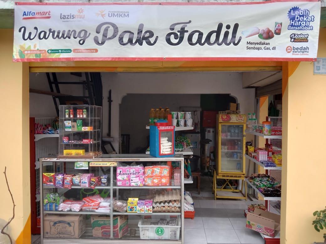 Cover Bedah Warung, Lazismu Pusat Alokasikan Dana 100 Juta