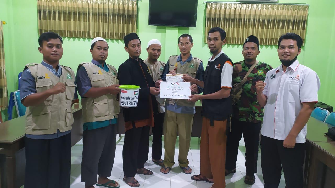 Cover KL Lazismu Jatirejo, Blimbing, Sukoharjo Salurkan Donasi Senilai Rp 71 Juta Rupiah