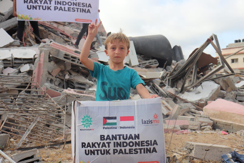 Cover Melalui Lazismu, Muhammadiyah Galang Dana Hingga 32 M untuk Palestina