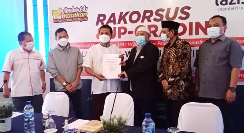 Cover Lazismu Jawa Timur Launching Kantor Layanan Virtual