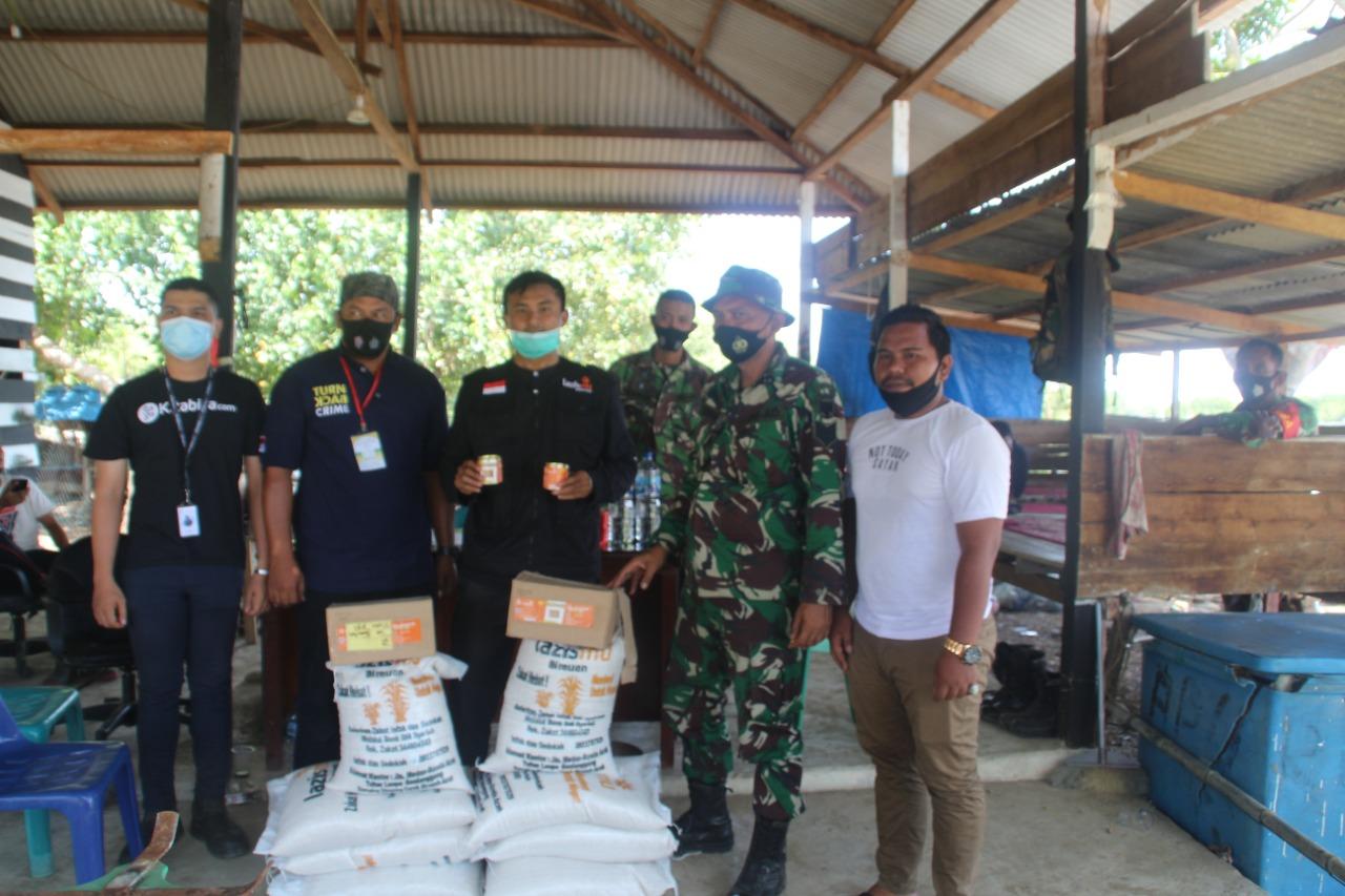 Cover Lazismu Bireuen Salurkan Bantuan kepada Pengungsi Rohingya di Aceh