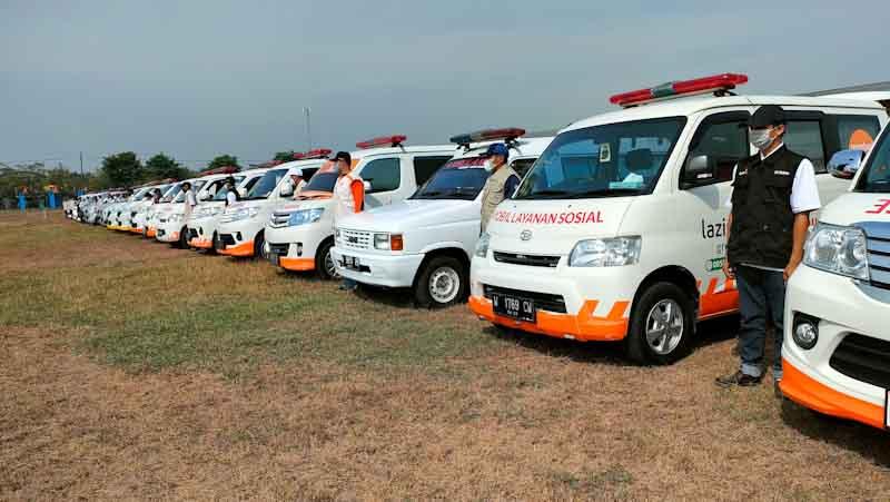 Cover Siaga Bencana, Lazismu Jawa Timur Gelar Apel Siaga dan Bimtek Ambulans