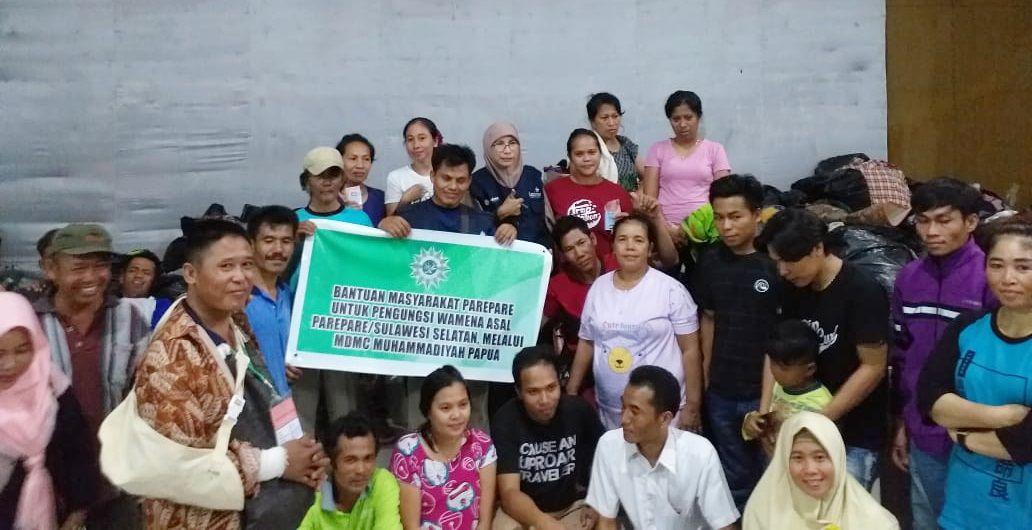 Cover Bantu Pengungsi Wamena Pulang Ke Daerah Asal, MDMC Gandeng Banyak Kalangan