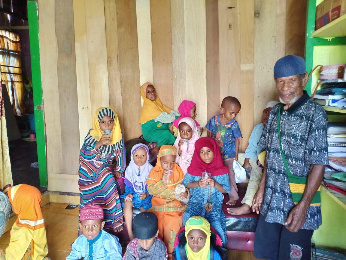 Cover Lazismu Akan Berikan Seragam Sekolah untuk Siswa - Siswi PAUD Di Sorong